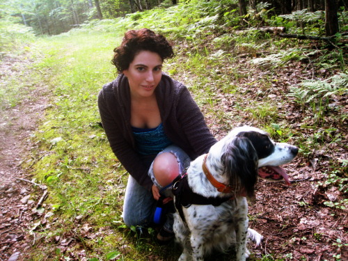 …Penny Cuteness (costarring me) Hiking Raven Trail Woodruff, Wisconsin