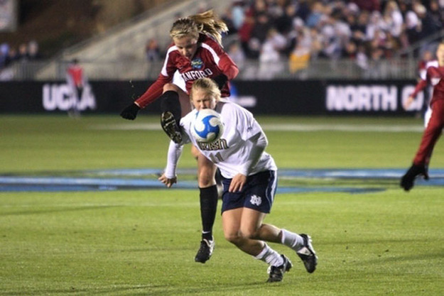 "rowdyrapinoe:  On the fortieth anniversary of Title IX, I thought that I'd share an article I found by a former soccer player at Stanford, Allison McCann, where she describes the difference between college soccer and the struggling professional league. While Title IX should rightfully be celebrated as a great accomplishment for women's sports, we also have to remember that there is still a lot of work to be done, especially on a professional level. (via BuzzFeed) ""Title IX Withdrawl Syndrome""  We used to call it Nike Christmas, the day we entered the locker room to find our lockers overflowing with new gear — cleats, sweatshirts, running shoes, backpacks — you name it. In three consecutive appearances at the NCAA Final Four for Stanford's soccer team, I rode in limos, gave ESPN interviews and played in front of thousands of screaming 12-year-old girls. None of that likely would have happened without Title IX — the legislation originally intended for educational equality that is now synonymous with athletic equality for women. On Saturday, Title IX celebrates its 40th birthday, a monumental occasion for the roughly three million high school girls and almost 200,000 college females that now play sports — a 1079 and 622 percent increase, respectively, since the law's inception in 1972. But Title IX was simultaneously the best and worst thing that happened to me as a female athlete. My experience as a Division I soccer player at Stanford was arguably better than many of my male athlete friends. We were really good (usually standing room only, and our playoff games sold out in minutes) and people loved to watch us play. It all made me think that people really enjoyed women's sports. After college, and after Title IX, I knew it would be different — I just didn't know how much.  I left school early in March of my senior year to pursue a career in the (now defunct) Women's Professional Soccer (WPS) league. As a girl, I never had aspirations of being a pro; a scholarship to play in college was all I really wanted. But once I got there, wrapped in the security blanket of Title IX and a school that whole-heartedly supports its female athletes, perhaps my view of the rest of the country's opinion of women's sports had become skewed. Upon arriving in Boston, where I went for training camp with the Boston Breakers of the WPS, I was picked up in a minivan by my host family. I slept in a small room with a twin bed and ate home-cooked meals. They were wonderful people, but it was far from the luxury of college athletics — and even further from a ""professional"" league. The team's locker room was a large trailer in the back parking lot of Harvard's football stadium, where we trained, as most teams in the remaining six-team league didn't have their own facilities. I was given a pair of shorts and a shirt to practice in, which I'd have to return if I got cut. I bought a one-way plane ticket and watched myself disappear into a league that was hanging on by its fingernails, largely non-existent to the rest of the world. I could deal with shitty facilities, a twin bed and no more Nike Christmas if it meant the league survived and I could keep playing. But the WPS was mismanaged, disorganized and lacking in any consistent structure. Desperate for funding, it allowed eccentric owners to do whatever they wanted, and players to coach teams themselves. For over a month I waited in limbo — unpaid and unrostered — because the coaches knew that I'd keep showing for free. Not wanting to move to a pro league abroad, and with only 24 spots on each of the six teams, there wasn't really anywhere else to go. Needless to say, I finally left. The anxiety and uncertainty at practice every day was too much, and a salary of (maybe) $1,000 a month was not worth putting off my degree (most players made more, but I was looking at developmental player's wages). I had only missed a few weeks of classes, so I went back to Stanford, graduated, and returned to Boston as a reserve player for the rest of the summer. The WPS endured a rocky 2011 season, surviving off the momentum of the Women's World Cup before calling it quits earlier this year and becoming the second failed iteration of American women's professional soccer. The opportunities that exist now for women playing high school and college sports, largely due to Title IX, are remarkable. But I didn't want it to end there; I wanted to keep playing and I wanted to be a pro. Title IX held my hand for 21 years, but, like an unforeseen break-up, left me alone to brood over the fact that, forty years later, still nobody (really) cares about women's professional team sports in this country.     ""Life is awesome as a college athlete, and then it's a total cliff to jump off,"" says Kelley O'Hara, a member of the US Women's National Team (USWNT) heading to London this summer (as well as good friend and former teammate at Stanford.) That's true even for players as good as Kelley, one of 18 traveling to the Olympics, for whom playing is still a possibility. There's lots of opportunities abroad, but nine month stints in Germany aren't for everyone. For the USWNT players, they can make a pretty decent salary thanks to US Soccer, have sponsors and even fleeting moments of fame here. But that's only for 18 women. The rest of us—and this is not Title IX's fault, or anyone's for that matter—become a new archetype, female versions of those middle-aged men that can't let go of The Dream. So Happy Birthday, Title IX, and thank you for some of the best friends and moments of my life, as well as the limo rides and brief cameos on ESPN that my parents will never erase from the DVR. I just wish I'd gotten a little forewarning, or a parachute, for when I jumped off the cliff and into the abyss of women's professional sports."
