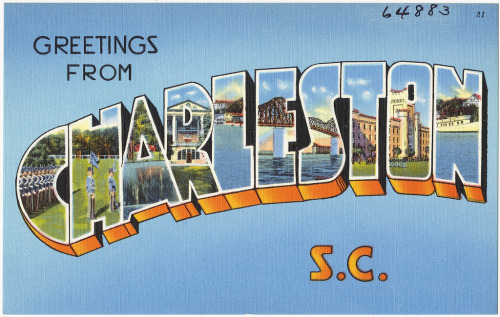 Greetings from Charleston