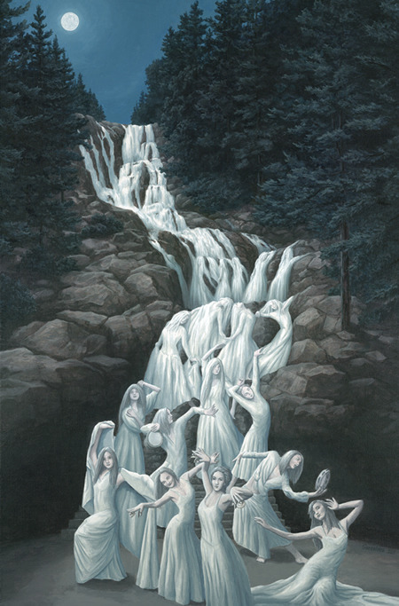unclegrimace: Water Dancing by Rob Gonsalves