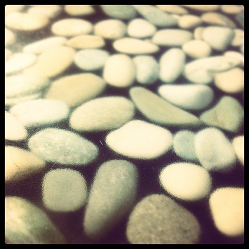 Smooth stones travel the farthest.  (Taken with Instagram at Rio Vista Recreation Center)