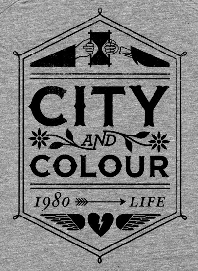 City and Colour T-Shirt by Doublenaut on Flickr.best fucking band of all time