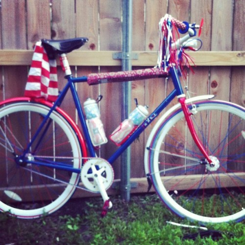 AB's birthday gift to himself. America themed Devil.  (Taken with Instagram)