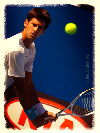 Novak Djokovic  One Hundred Photos 14-100 I miss Nole's long kitten hair!