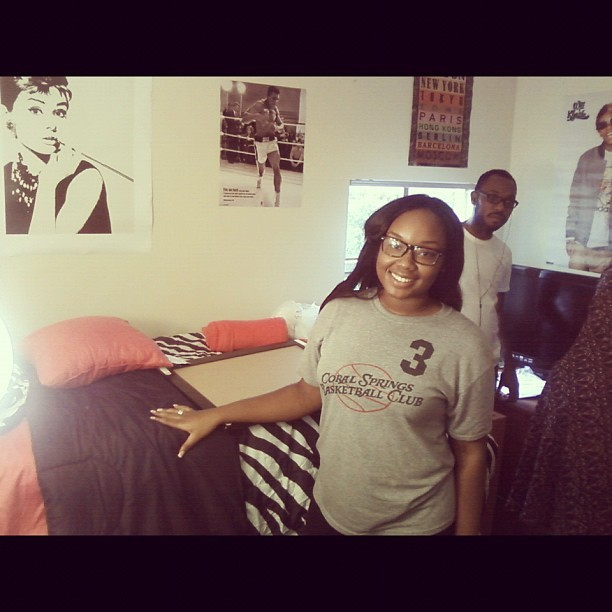 Move In Day… Baby sis growing up! #UCF (Taken with Instagram)