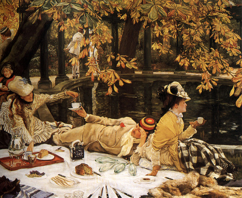 moika-palace:  Holyday, James Tissot c. 1876.