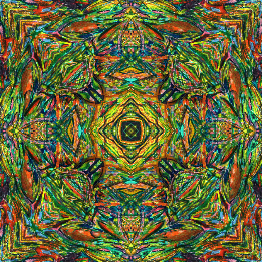 "fuckyeahpsychedelics:  ""Multidimensional Wheel"" by AldemButcher"