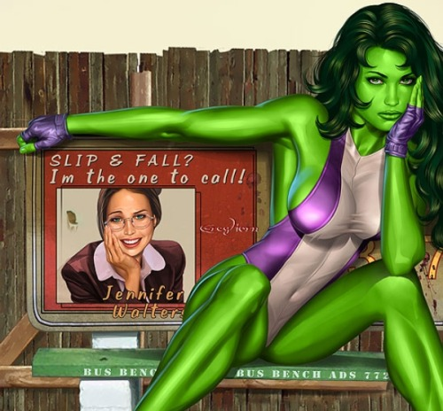 She-Hulk (via Marvel)