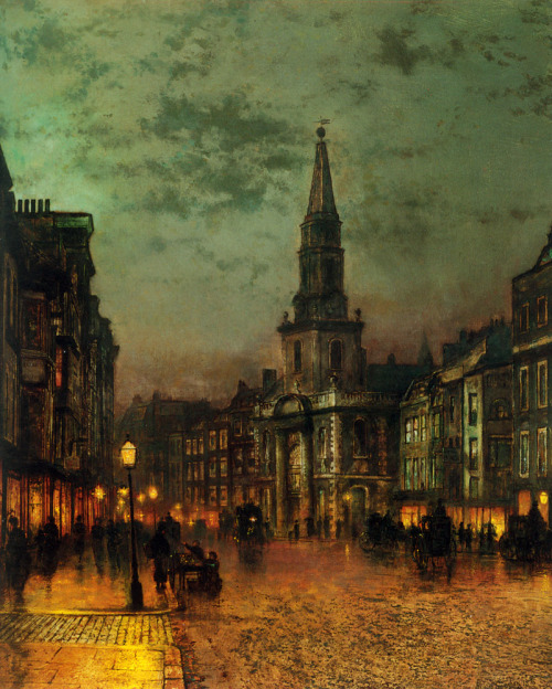 John Atkinson Grimshaw, Blackman Street, London, c. 1885