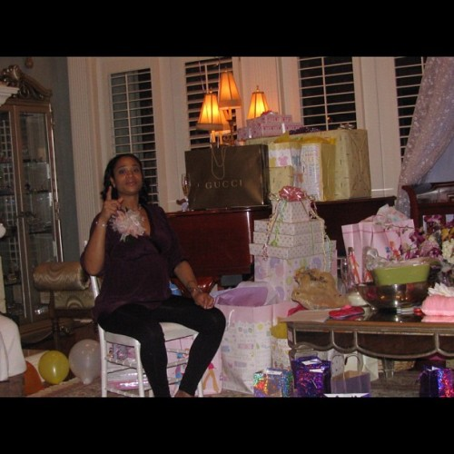 I couldn't believe all the gifts our friends & family brought for Eva Giselle Jordan. #lhhatl #loveandhiphopatlanta #MimiFaust (Taken with Instagram)