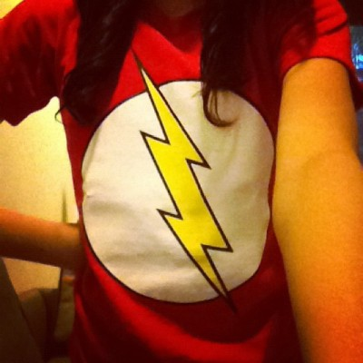 FLASH! =)))))))) (Taken with Instagram)