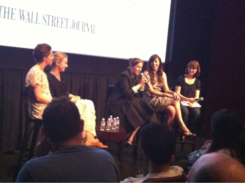 "Olivia Thirlby, India Ennenga, Lena Dunham, Ry Russo-Young @ BAMcinemaFest ""Nobody Walks"" Screening"
