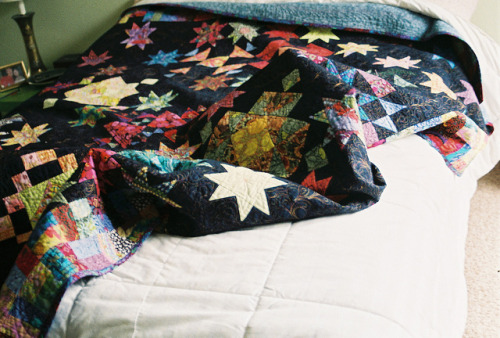 greyveins:  roomie quilt by bonniecakes on Flickr.
