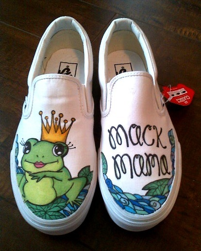 Princess Frog shoes.