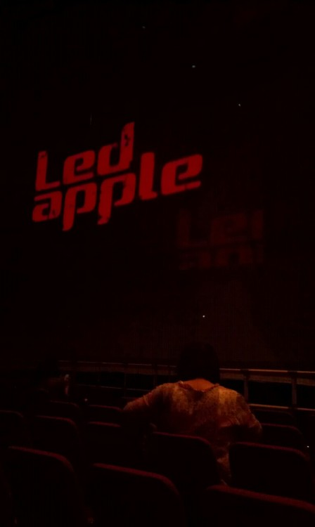 yesterday's event! the best concert i have ever been… led apple.. they were really friendly and kind. they had a surprise present for us after the concert and they announced that there will be a high5 event after the concert. me and my friend were so shocked and happy about that.. during the high5 event, i got to talk to hanbyul for few seconds (he's so fuqing cute..) and got a hug from kwangyeon (bias). i can die in happiness.