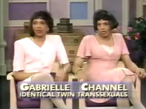 lustnspace:  Gabrielle & Chanelle Pickett identical twin transsexuals, both murdered, victims of transphobic violence