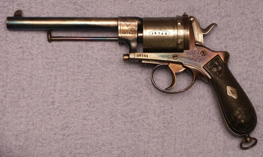 Gasser Revolver Gun The Gasser Revolver