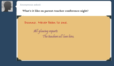 askswanqueen:  In which Henry is grandma's teacher's pet. What? Who said that? Wasn't me.