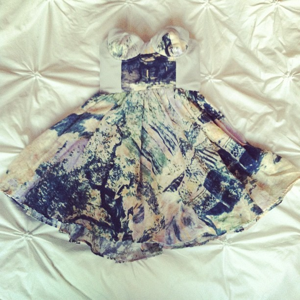 Alice McCall for tonight  (Taken with Instagram)