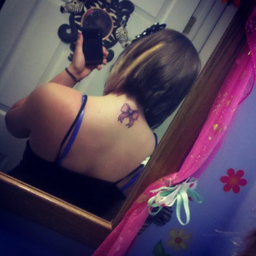 Part of my new tattoo. Can't wait to finish the rest :)) (Taken with Instagram)