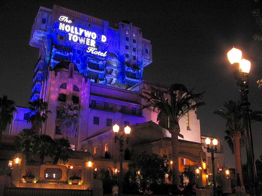 Disneyland's Tower of Terror.