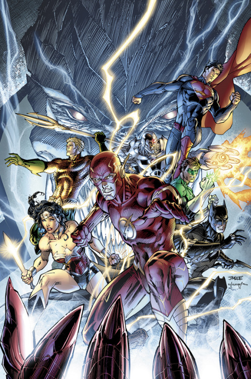 Justice League #11 // Variant Cover by Jim Lee
