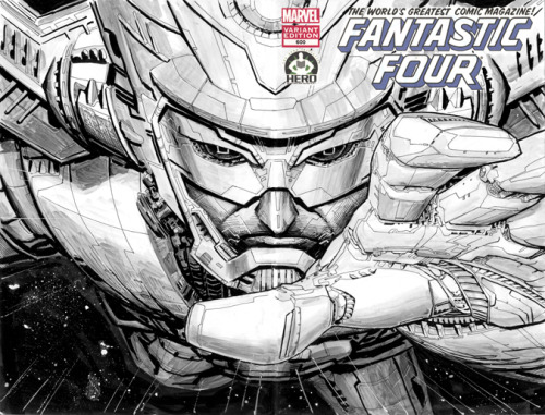 Wow, that's insane detail for a sketch. awyeahcomics:  Galactus by Dustin Weaver