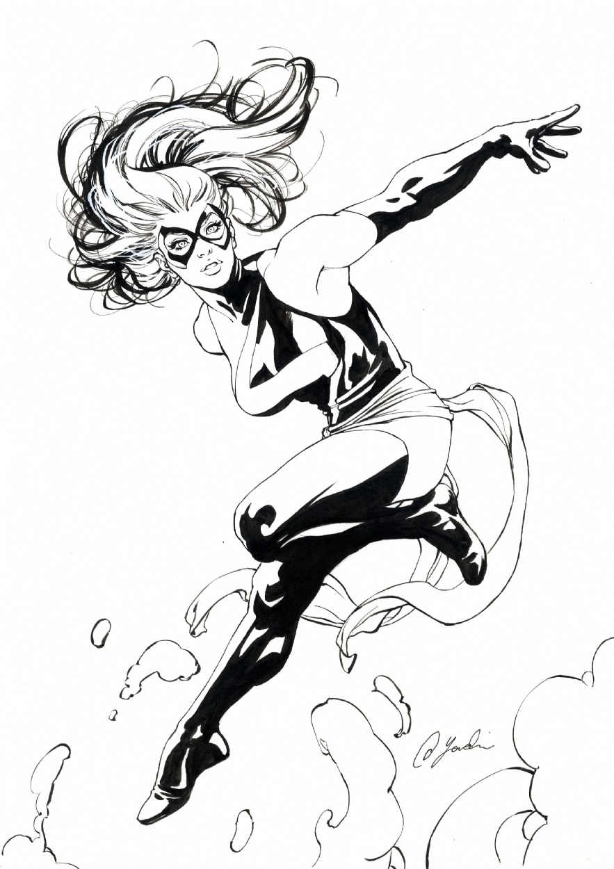 awyeahcomics:  Ms. Marvel by David Yardin