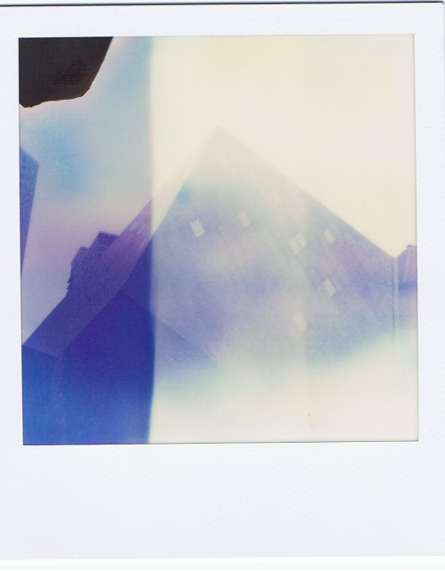 Gorgeous. We look positively glacial. polaroidgang:  Contemporary Jewish Museum.