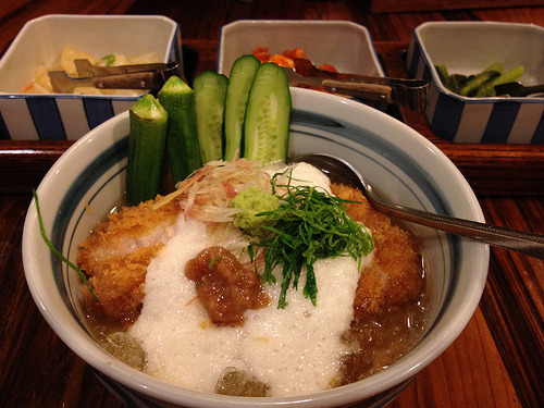 Pork cutlet bowl (chilled) / Katsukichi  冷しかつ丼 / かつ吉 @文京区本郷1  Flickr: http://flic.kr/p/cjxWuy
