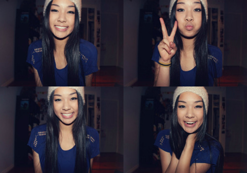 girls in beanies! <3