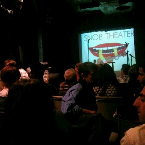 bedtimechamp:  Last night's (last) Snob Theatre. (Taken with Instagram)