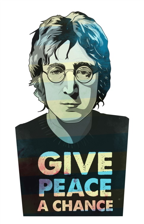 "I just posted ""Lennon"" Matt Fontaine   (Canada) via Curioos"