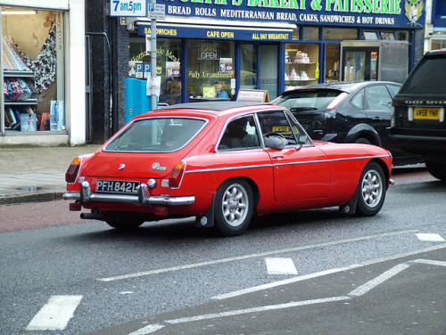 MGB GT by kenjonbro (Celebrating 60 Years 1952-2012) on Flickr.