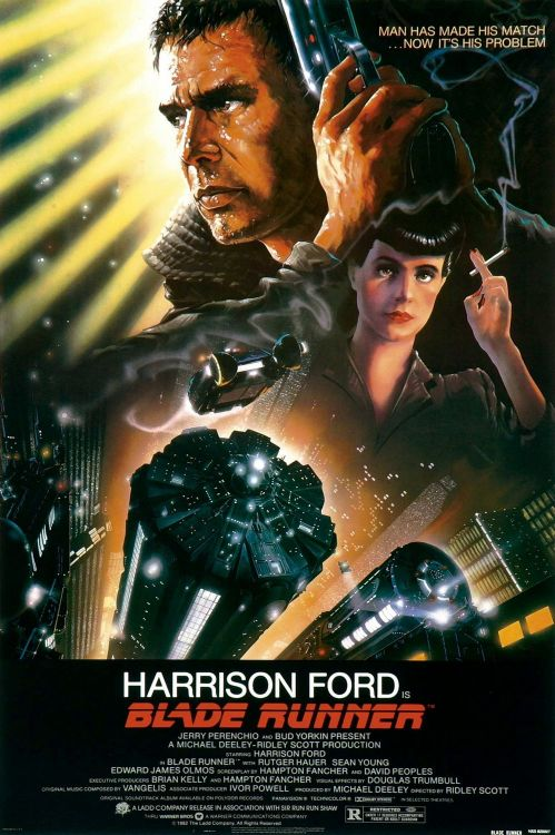 moviepostertrash:  Happy 30th Birthday, Blade Runner.