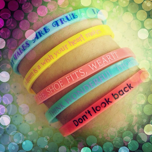 Wristy quotes #ootd #fashion #jewelry #accessories #bracelets #armparty #quotes  (Taken with Instagram)