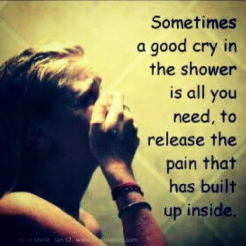 effyouseekayoweeffeff:  this is what i need.. #shower #cry #broken #hurt #tears #fragile (Taken with Instagram)
