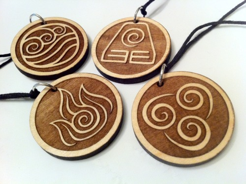 blazerdesigns:  June Giveaway: Avatar Elemental Necklaces With all the requests for these to be added to my shop, here it is! Prize One winner receives a set of all four Avatar Elemental necklaces Rules Reblog this post once, and only once Likes/follows do not count, but appreciated  Giveaway ends June 29th, Friday at 10pm PST Winner will be announced June 30th, Saturday Water, Earth, Fire, Air. Long ago, the four nations lived together in harmony. Then everything changed when benders on tumblr reblogged this.