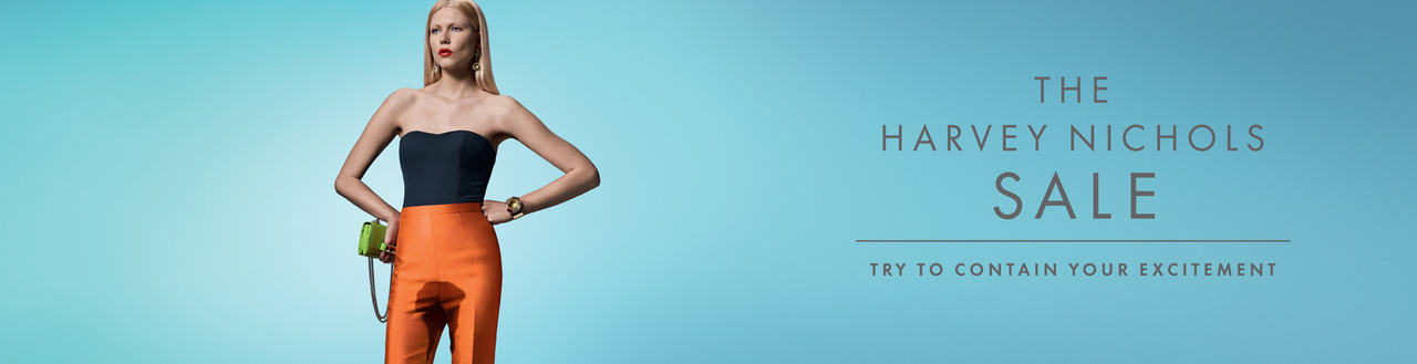 Harvey Nichols Summer Sale Try to contain your excitement