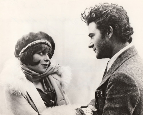 clarabowarchive:  The Look of Love ☆ Clara Bow and Gilbert Roland ☆ The Plastic Age (1925) ☆
