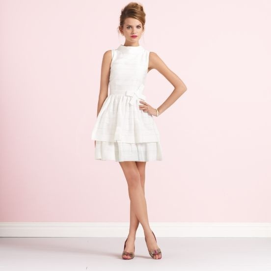 Love this sassy ensemble! (via Little White Dress - Curated by Kirtsy | kirtsy)