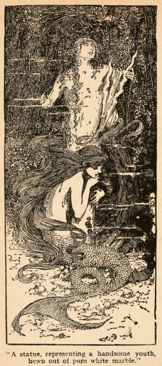 flippinyourfins:  Fairy tales of Hans Andersen (1908) illustrated by Helen Stratton
