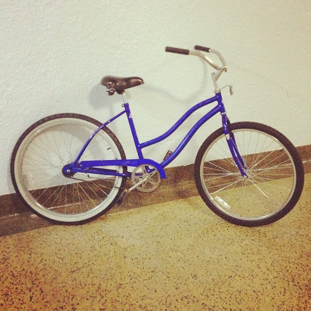 "My ride tonight… 26"" cruiser #weouthere #nyc #cruiser #bikes (Taken with Instagram)"