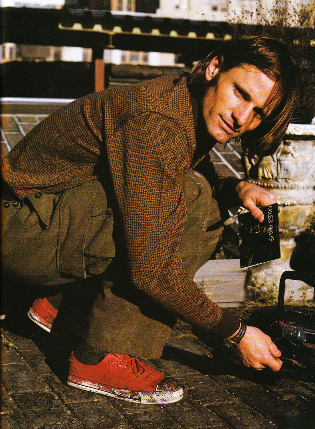 Viggo Mortensen: A Letter To True - Vogue Italia Supplement by Bruce Weber, November 2003