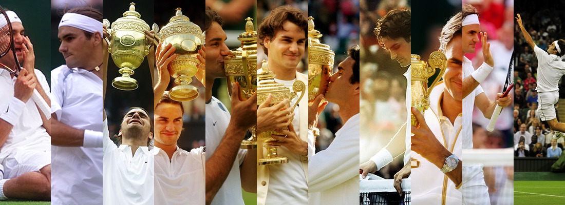 Evolution of Roger Federer:Wimbledon 2001–2011