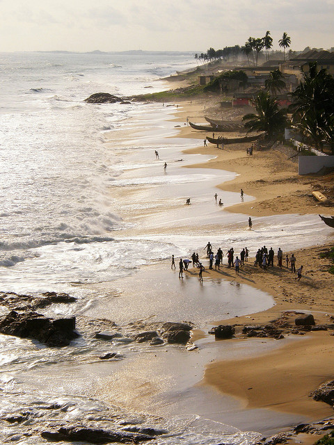 evysinspirations:  (via Cape Coast beach | Flickr - Photo Sharing!) Cape Coast, Ghana