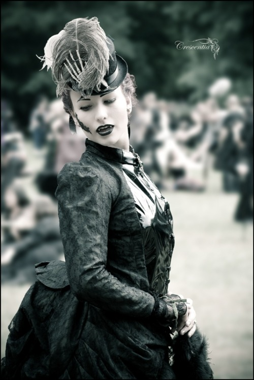 poisoned-calla:   Photo from Wave Gotik Treffen festival by Crescentia