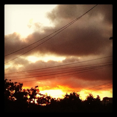 Solstice 6.23.12 #oakland #laureldistrict #eastbay #sunset (Taken with Instagram at Laurel District)