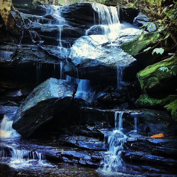 Somersby Falls  (Taken with Instagram)