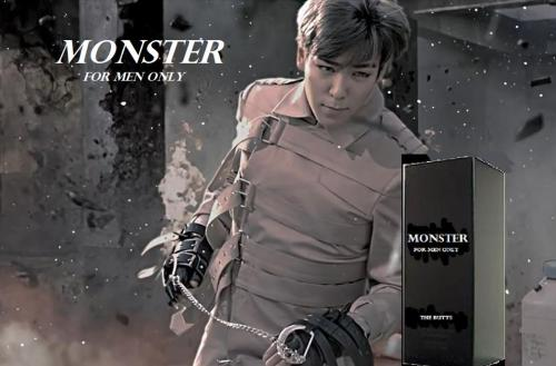 Big Bang's new cologne